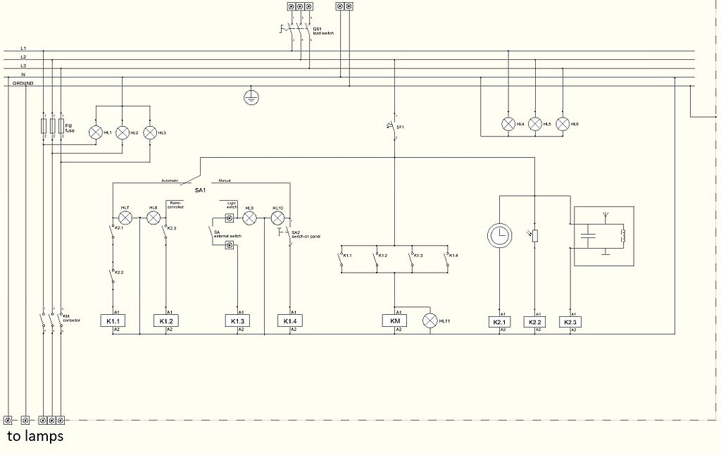 Fail Wiring Diagram Of Lighting Control Panel For Dummies Jpg