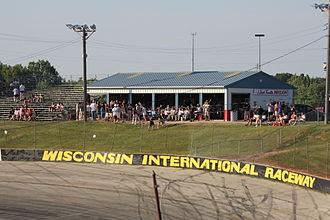 Wisconsin International Raceway - Dick Trickle pavilion in Turn 2