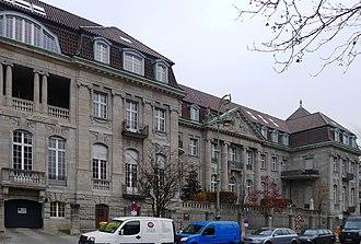 Reichskriegsgericht - Former Reichskriegsgericht building on Witzlebenplatz