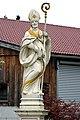 Wolfsberg Theissenegg Statue des hl Albinus 03092014 508.jpg
