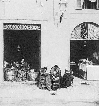 Giuseppe Primoli - Image: Workshop in the Ghetto