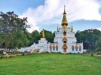 Peace Pagoda - World Peace Pagoda Analayo in Comilla