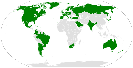 Worldwide Xbox/Games for Windows Live availability map