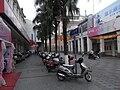 Xinhui 新會城 大新路 Daxin Lu motorbike parking Pedestrian zone.JPG