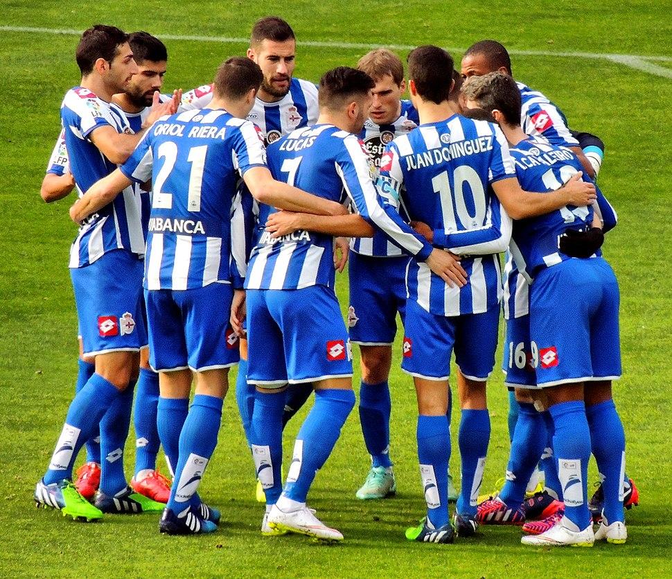 Xogadores do Deportivo da Coruña (2015)