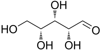 Pentose - Image: Xylose linear