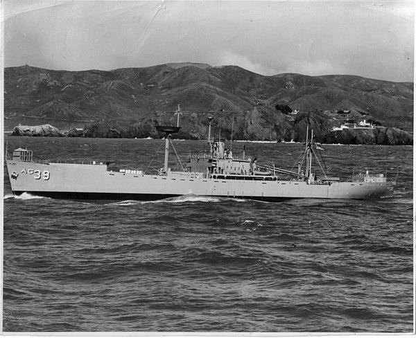 us navy Uss mcclellen escort destroyer