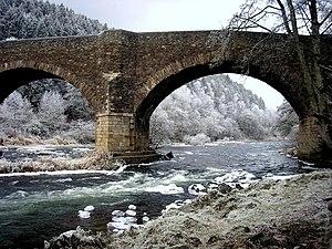 Yair Bridge - The bridge in winter