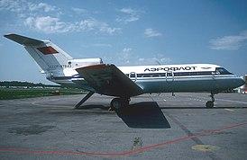 Yakovlev Yak-40, Aeroflot AN1089477.jpg