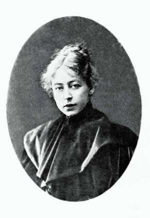 Maria Yakunchikova - Portrait of Maria Yakunchikova