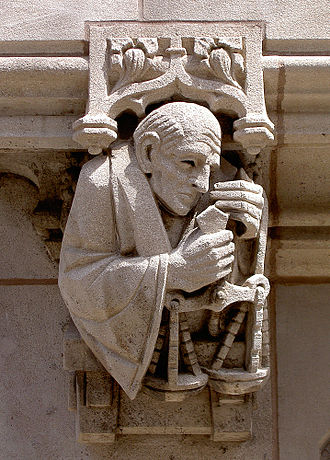 Yale Law School - Sculptural ornamentation on the Sterling Law Building