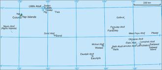 Fais Island - Image: Yap
