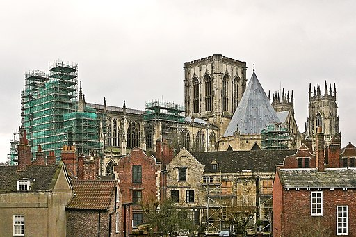 York Minster from the city walls (4365868306)