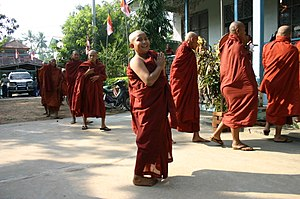 Mandalay Region - Image: Young Monks