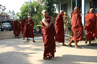 Mandalay Region - Image: Young Monks