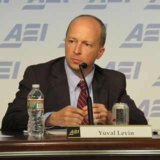 Yuval Levin Israeli-American political analyst and journalist