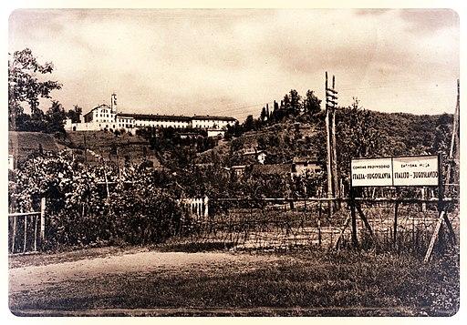 Začasna meja Italija - Jugoslavija 1945