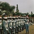 Zaire (voorheen Belgisch Congo ) erewacht, Bestanddeelnr 254-9399.jpg