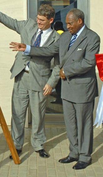 Zarifou Ayéva - Zarifou Ayéva (right) in 2007.