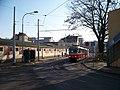 Zdibská, tramvajová smyčka, od Březiněveské.jpg