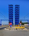 Zeebrugge Belgium Lifting-bridge-at-Pierre-Vandamme-Lock-01.jpg