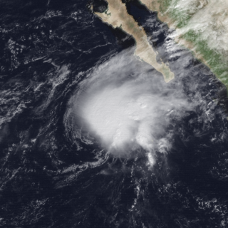 Tropical Storm Zeke (1992) Pacific tropical storm in 1992