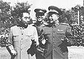 Zhou Enlai and He Long in Zhongnanhai.jpg