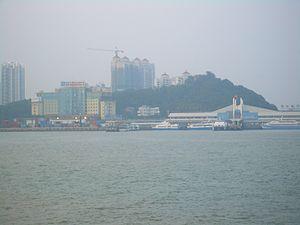 Port of Zhuhai - An overall view of Jiuzhou Port