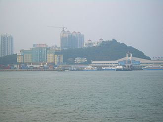 Port of Zhuhai - An overall view of Jiuzhou Port