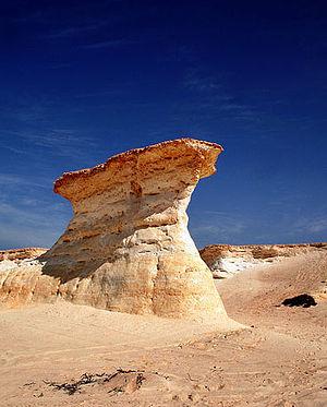 Zikreet rock formations, Dukhan, Qatar