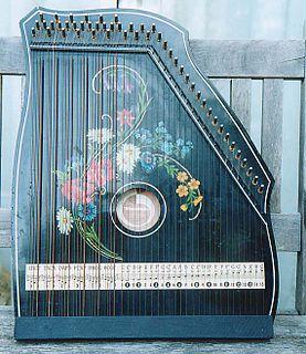 Guitar zither