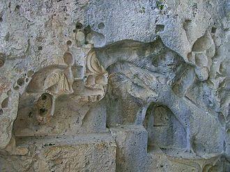 Drakonjina špilja - Picture of the dragon relief