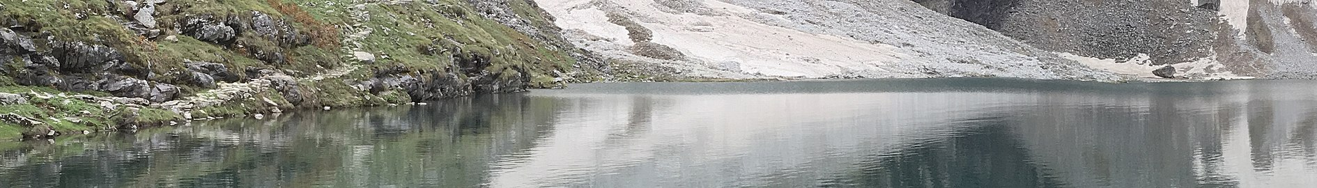 """""Reflection of Nanda Devi Hills on Hemkund Sahib Lake Chamoli, India"".jpg 05 (cropped).jpg"