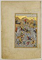 """Battle between Alexander and Darius"", Folio from a Khamsa (Quintet) of Nizami MET DP164651.jpg"