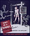 """Don't be a dummy^ Avoid Malaria^ - NARA - 514128.jpg"
