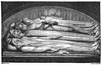 The Library (book) - An example of a woodcut by William Blake used in The Library.
