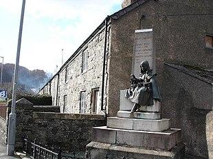 """""""The Girl"""" in Llansannan"""