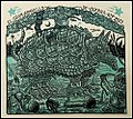 """The Great War-Madillo"" woodcut by Tom Huck.jpg"