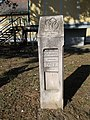'BudaVidék Zöld Út' footpath sign, 2019 Herceghalom.jpg