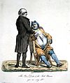 'The poor doctor and the rich patient. 'You are very ill!' Wellcome L0022226.jpg