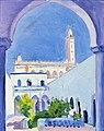 (Albi) La mosquée de Laghouat (1929) MTL.inv.314.jpg