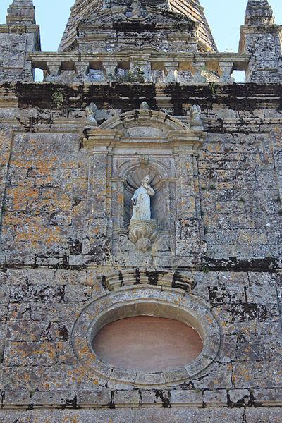 Église Sainte-Barbe (Moustoir-Ac): détail façade nord