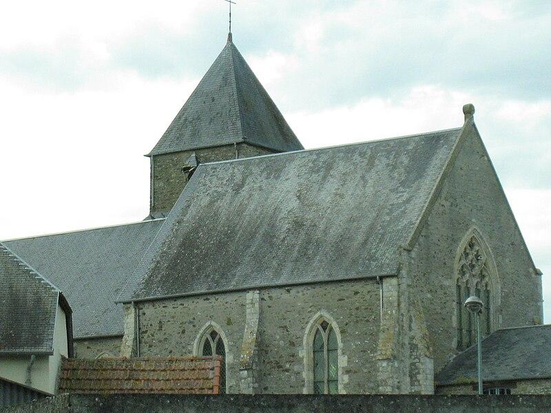 Eglise de Saint-Ébremond-de-Bonfossé (plan latéral droit)