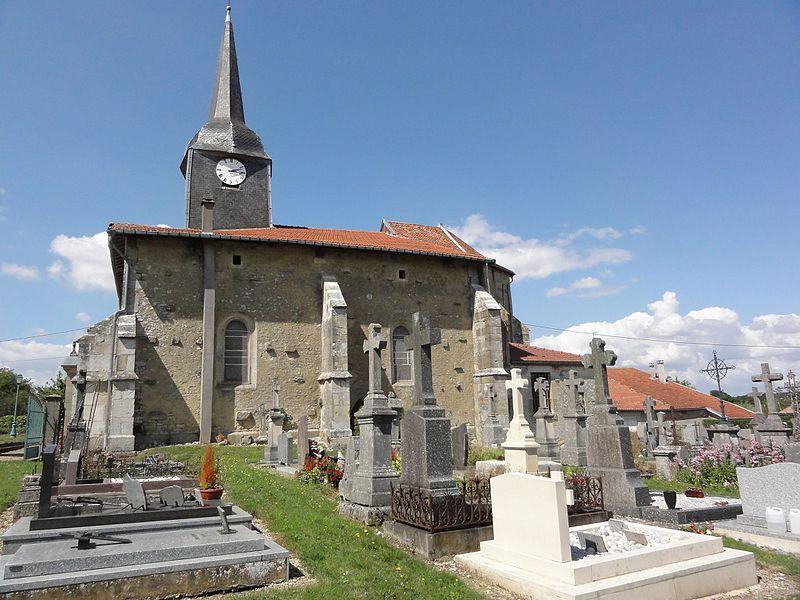 Érize-Saint-Dizier (Meuse) église