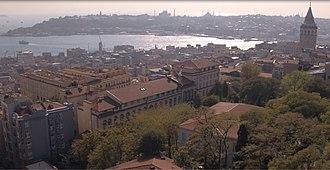 Deutsche Schule Istanbul - Aerial view of the school.