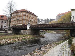 Český Krumlov, Lazebnický most.JPG