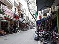 Đoạn đi vào đầu phố Ngân Sơn từ phố Phạm Ngũ Lão, thành phố Hải Dương, tỉnh Hải Dương.jpg