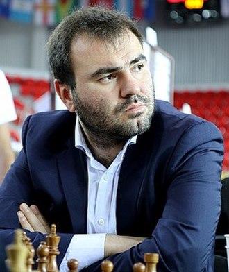 Shakhriyar Mamedyarov - Mamedyarov at 2018 Chess Olympiad