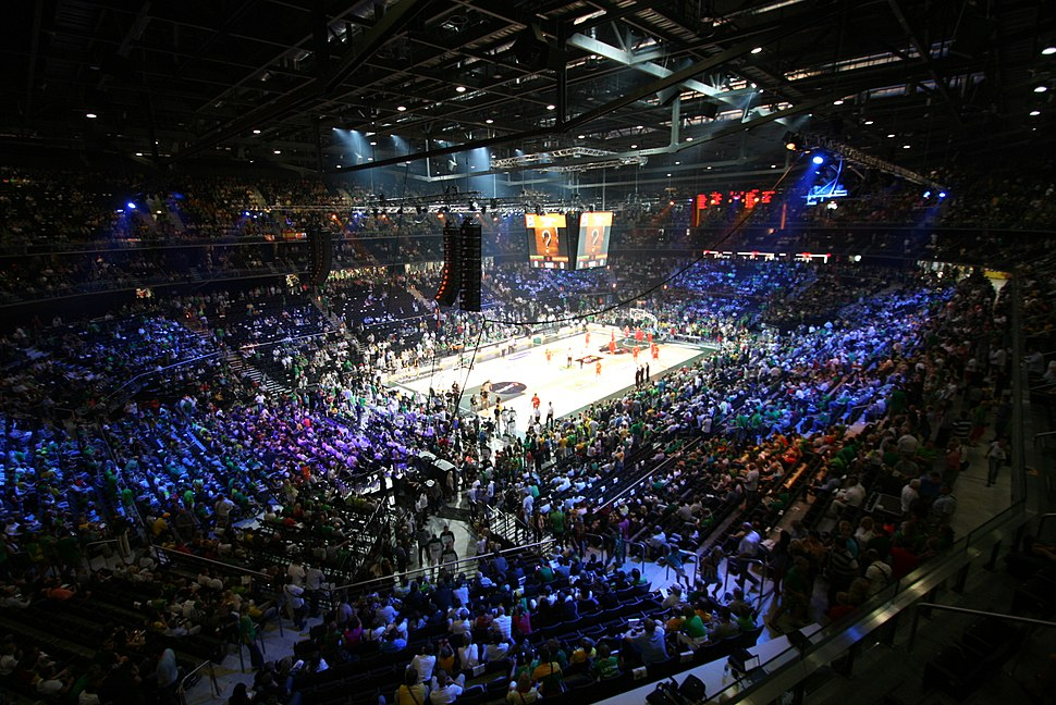Žalgiris Arena interior 18 Aug 2011