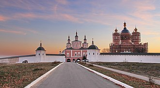 Svensky Monastery - The monastery in 2014.